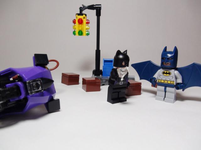 LEGO キャットウーマンのシティーチェイス