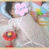 赤ちゃんのおもちゃ、買った4種紹介レビュー(3か月の娘編)