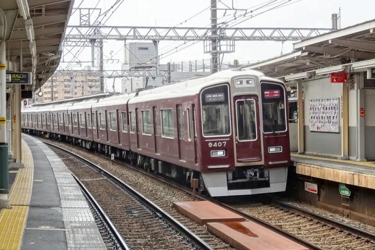 阪急電車9300系河原町行