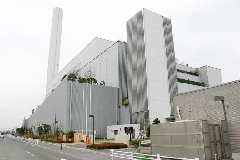 ゴミ焼却工場東淀工場