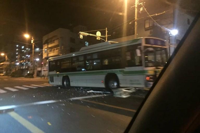 バス事故 Twitter引用