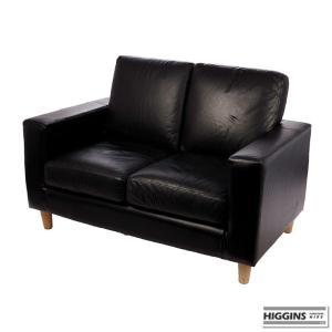 2 Seater Sofa Black