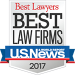 Higgs Fletcher & Mack Best Law Firm badge