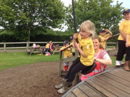 Reception visit Godstone Farm - June 2015[10]