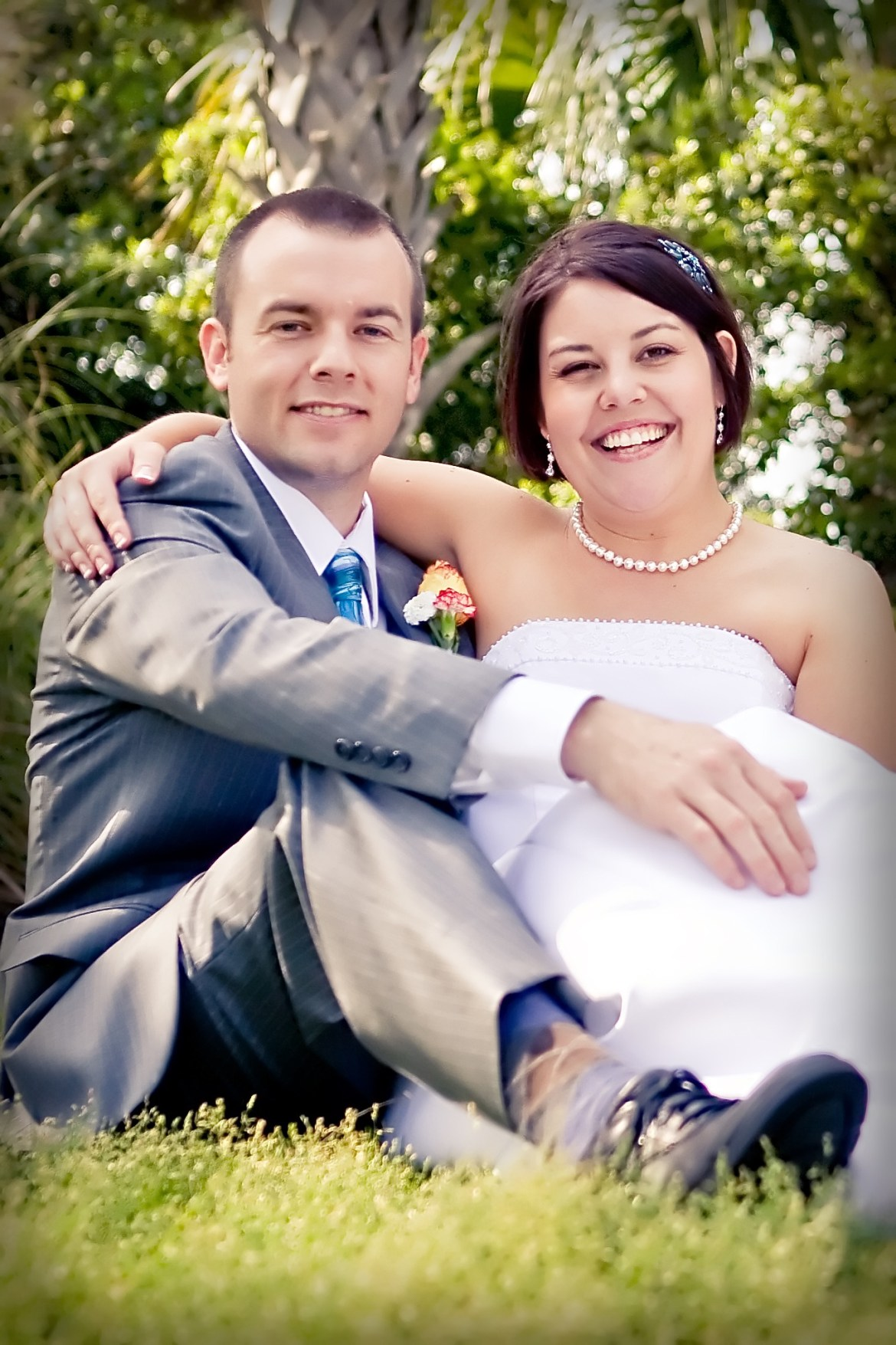 Wedding Portrait by Chi Photography