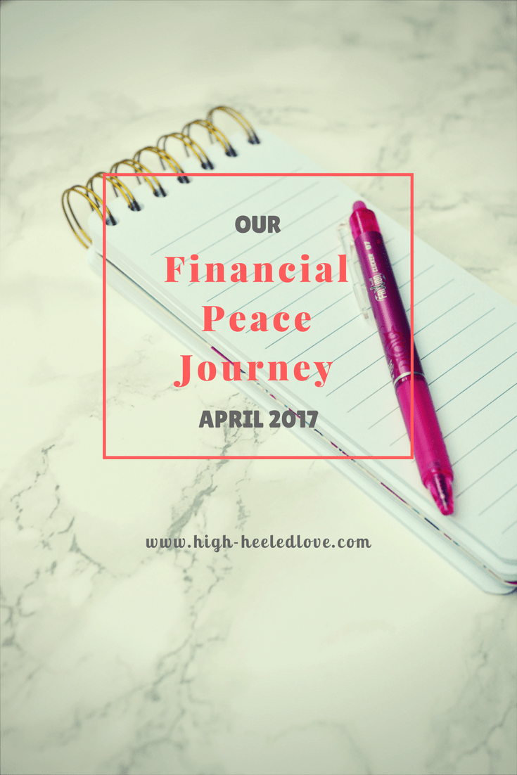 Our Financial Peace Journey: April 2017 What we're doing to knock out the remainder of our debt snowball in 2017 and start living debt-free.