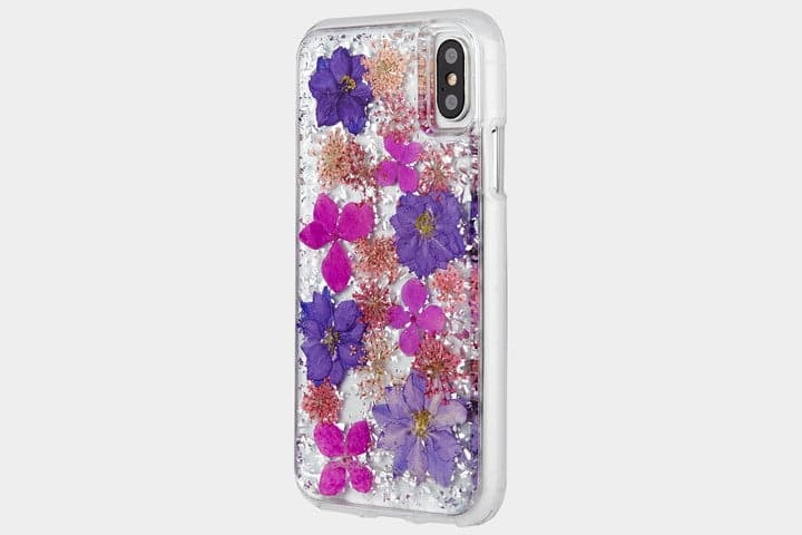 coque paillette iphone x
