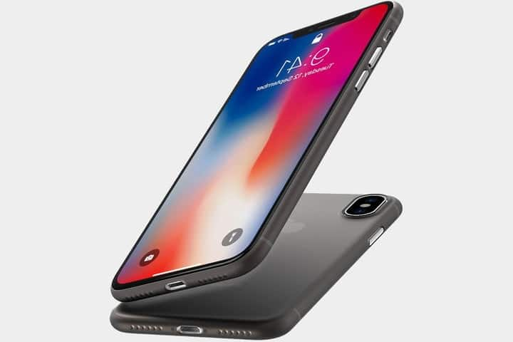 coque ultra fine iphone x