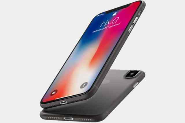 coque ultra fine iphone x