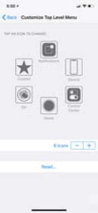 AssistiveTouch sur votre iPhone