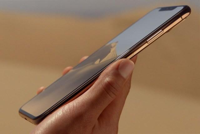 design de l'iphone xs