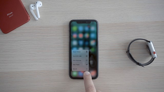 iphone xs dtouch