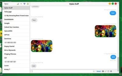 Le client de messages distants apporte des messages textes iMessage et iPhone sur un PC Windows