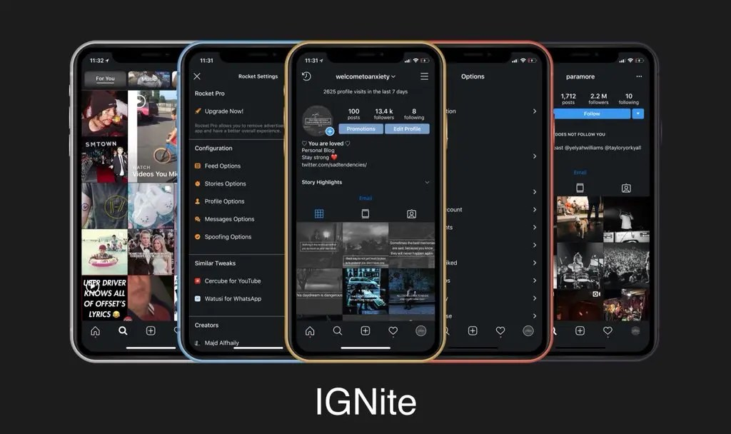Ignify Tweak