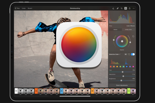 Pixelmator Photo iPad