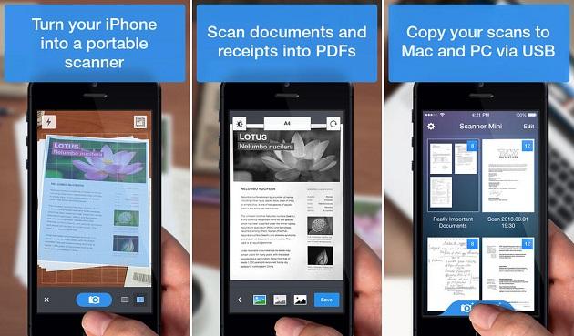 Scanner mini app