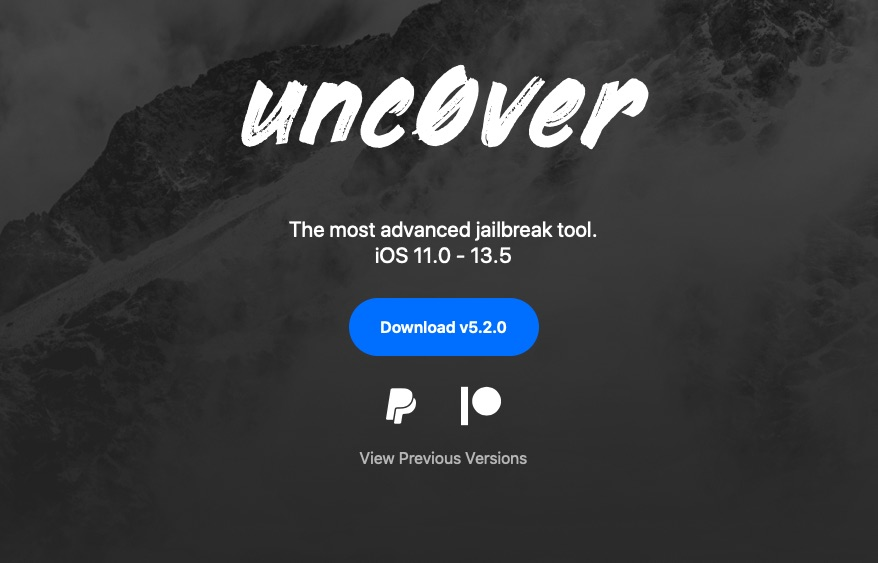 unc0ver 5.2.0