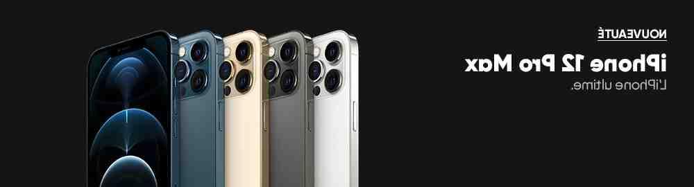 Appareil photo de l'iPhone 11 pro max et de l'iPhone 12 pro max