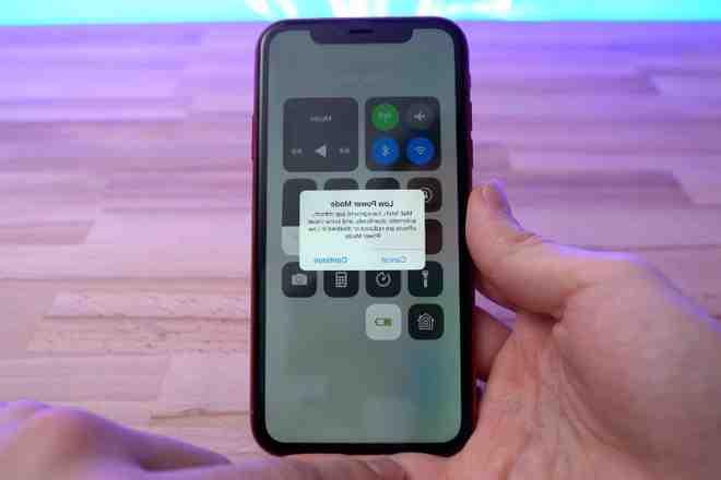Batterie de l'Iphone xr
