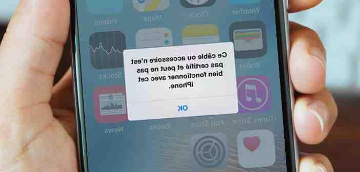 Comment faire quand son iPhone ne veut plus charger ?
