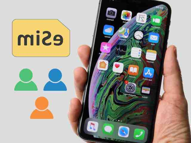 Comment mettre deux carte SIM dans un iPhone XR ?