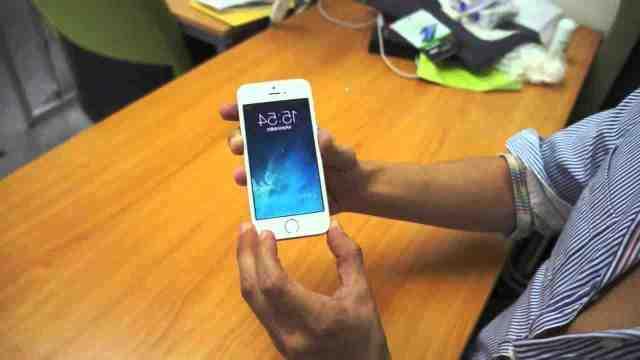 Comment mettre une empreinte sur iPhone 5 ?