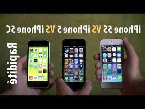 Comment reconnaître iPhone 5 ou 5 s ?