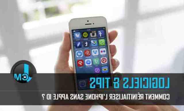 Comment reinitialiser iPhone 8 plus sans code ?
