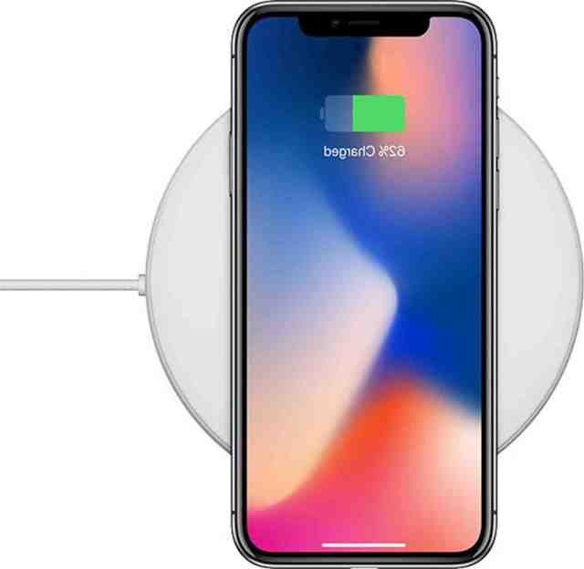 How do I turn on wireless charging on my iPhone 8?