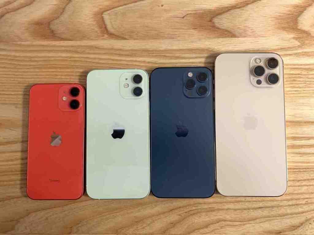 Iphone 12 mini contre iphone 6s
