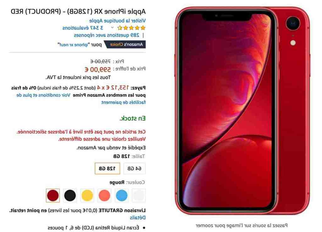 Iphone xr comme neuf