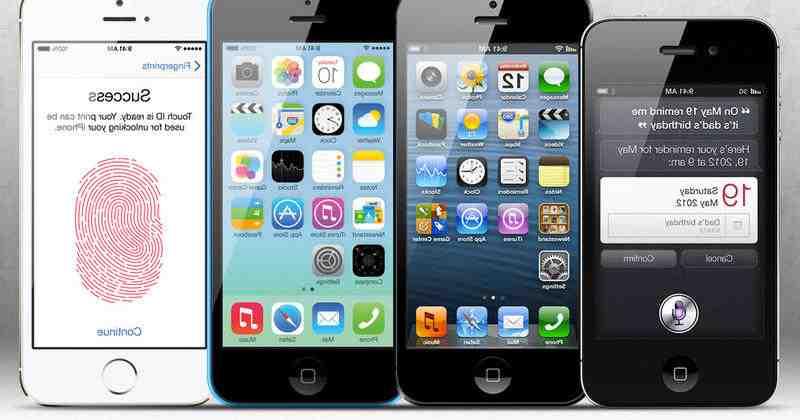 Mise à jour de l'Iphone 5 vers ios 13