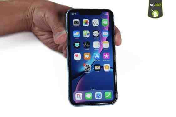 Où sont les Haut-parleur iPhone XR ?