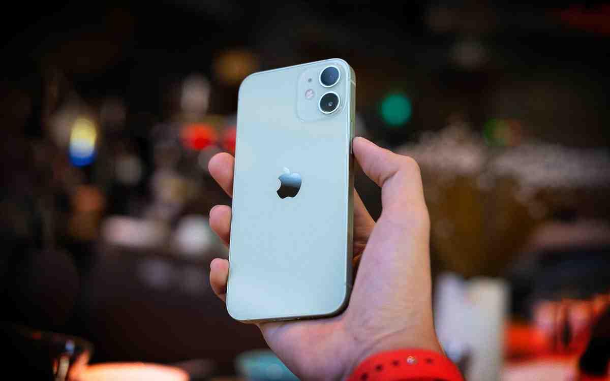 Où trouver iPhone 12 mini moins cher ?