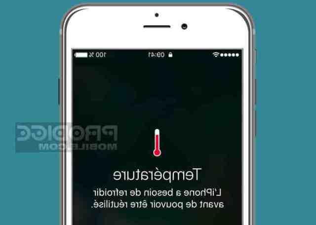 Pourquoi mon iPhone 11 Pro Max chauffe ?