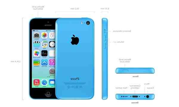 Quel est la taille de l'iPhone se ?
