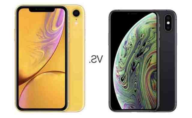 Quel est le mieux entre iPhone XS Max et XR ?