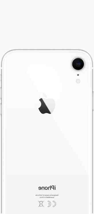 Quel est le prix d'un iPhone XR ?