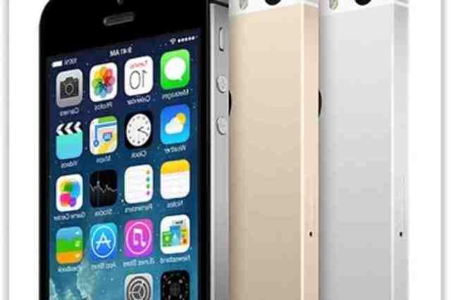 Quelle année iPhone 5S ?