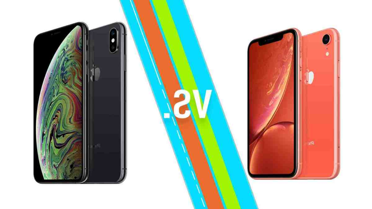 Quelle différence entre l'iPhone XS et XS max ?