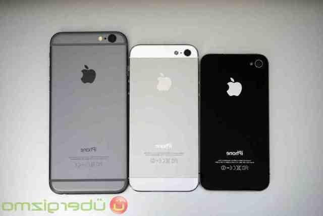 Quelle est la différence entre l'iPhone 5 et l'iPhone 6 ?