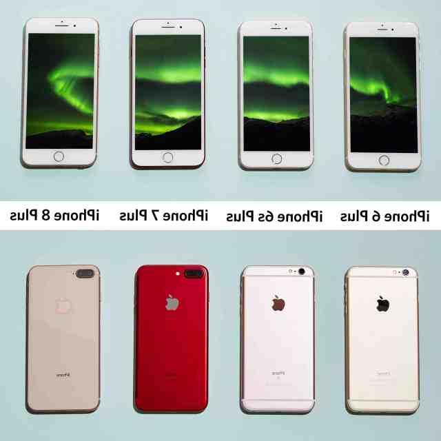 Quelle est la différence entre un iPhone 8 est un iPhone 8 plus ?