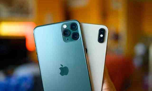 Quelle est la taille de l'iPhone XS max ?