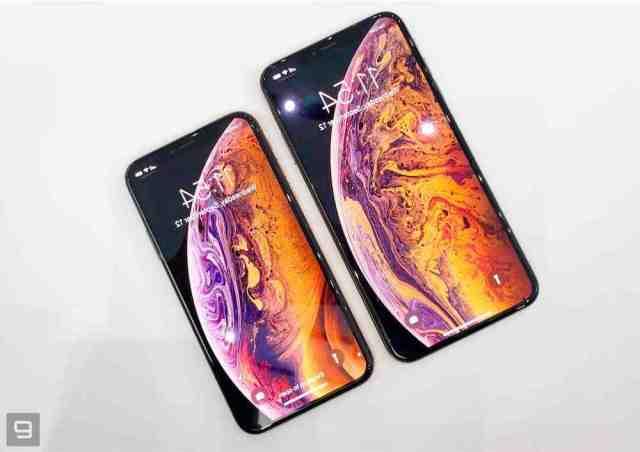 Quelle est la taille du iPhone XS max ?