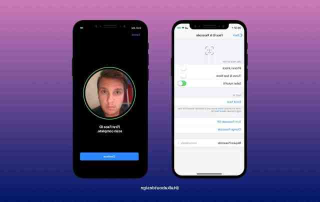 What does it mean when ur face ID doesn't work and says Face ID not available?