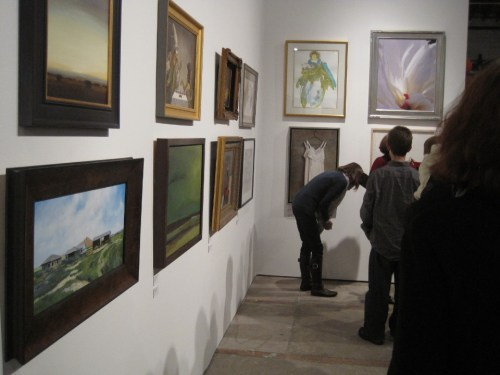 A. gallery opening