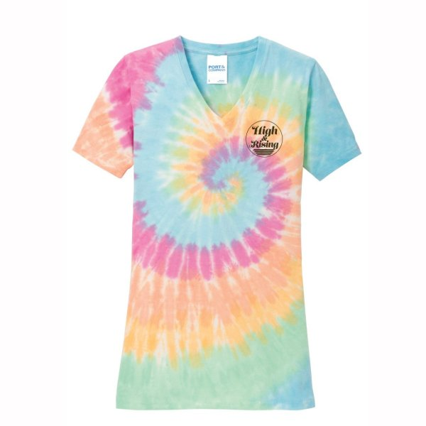 High & Rising Ladies Tie Dye Shirt
