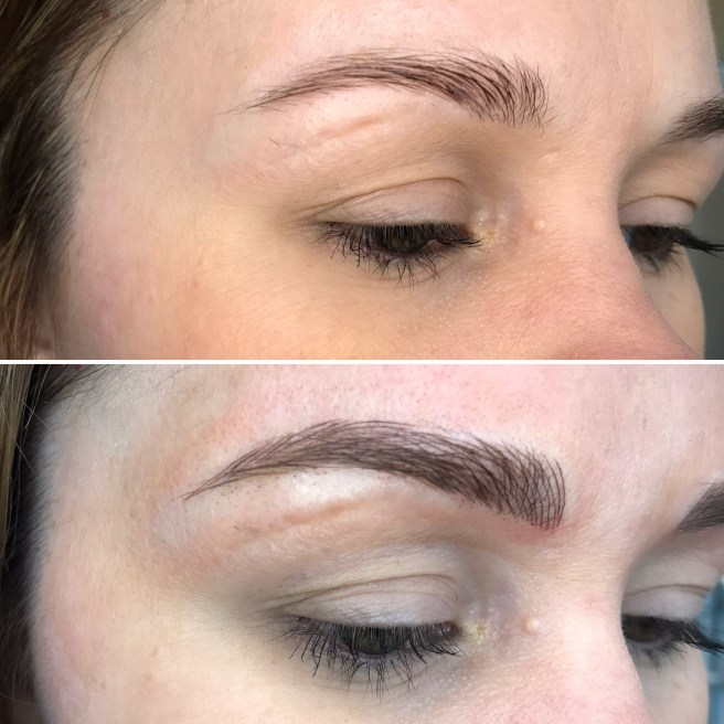 Sweet fluffy brows