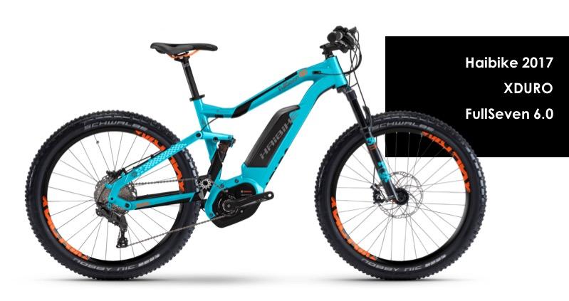 Haibike E-Bike SDURO FullSeven 6.0 500Wh 20-G Deore 18 HB YCC anthr.//red//White Medium