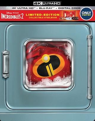 Incredibles 2 4k Steelbook